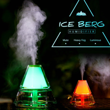 7d7d49574eba Fding 400ML Iceberg Design Ultrasonic Humidifier 7 Colors LED Lights  Electric