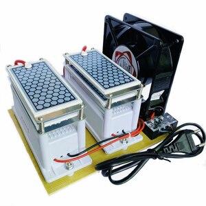 Image 5 - 220V/110V 20g קרמיקה אוזון מחולל אוזון כפול משולב ארוך חיים קרמיקה צלחת Ozonizer אוויר מים אוויר מטהר
