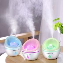 แบบพกพา 350ml อัลตราซาวด์ LED Night Light โซฟา AROMA USB ชาร์จ Humidifier Air Essential น้ำมัน Aroma Diffuser Purifier Atomizer