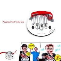 Tun dower Einstellbare Polygraph Test Liegen Heikles Spielzeug Erwachsene Micro Stromschlag Lügendetektor Schokierende Lügner wahrheit Spielkonsolen Spielzeug
