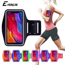 Running Gym Phone holder Bag Cover For Xiaomi Redmi Note 7 5 7A 6A 6 Pro AI Mi Max Mix 2S 2 3 9T 9 8 SE A3 A2 Lite Arm Band Case(China)