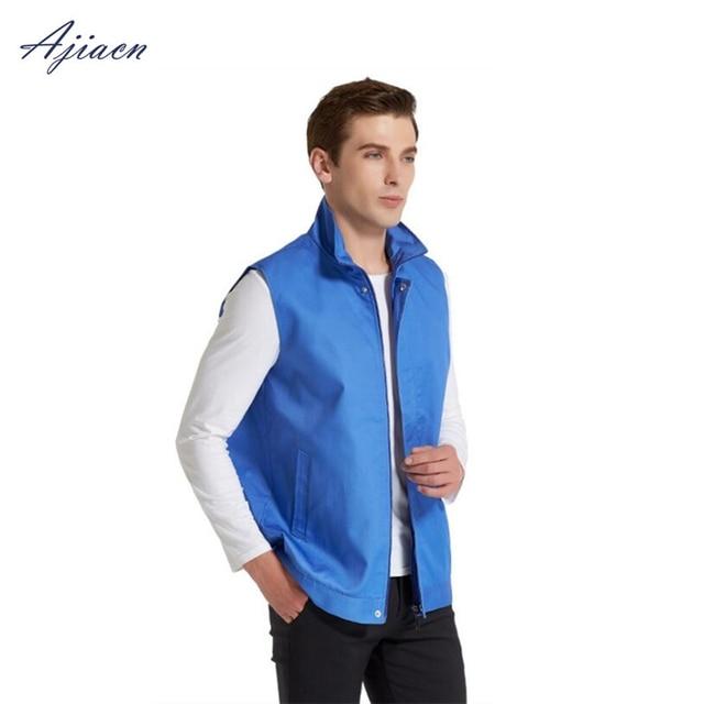 Direct Selling electromagnetic radiation protection metal fiber gilet homme protect body health EMF shielding sleeveless jacket
