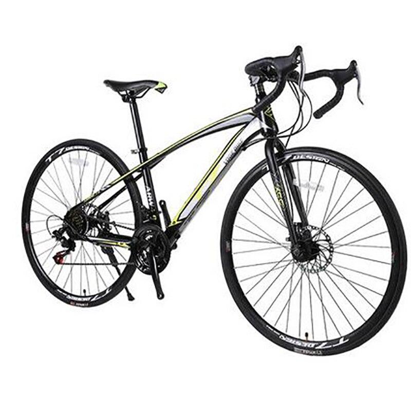Free Shipping High-carbon Steel 21-speed   26 Inches  Bend Handlebar Bike Producers Road Bike