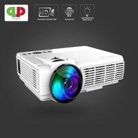 Мощный мини-проектор Q5 портативный полный светодиодный hd-проектор 1800 люмен Система домашнего кинотеатра Proyector мини светодиодный проектор ...