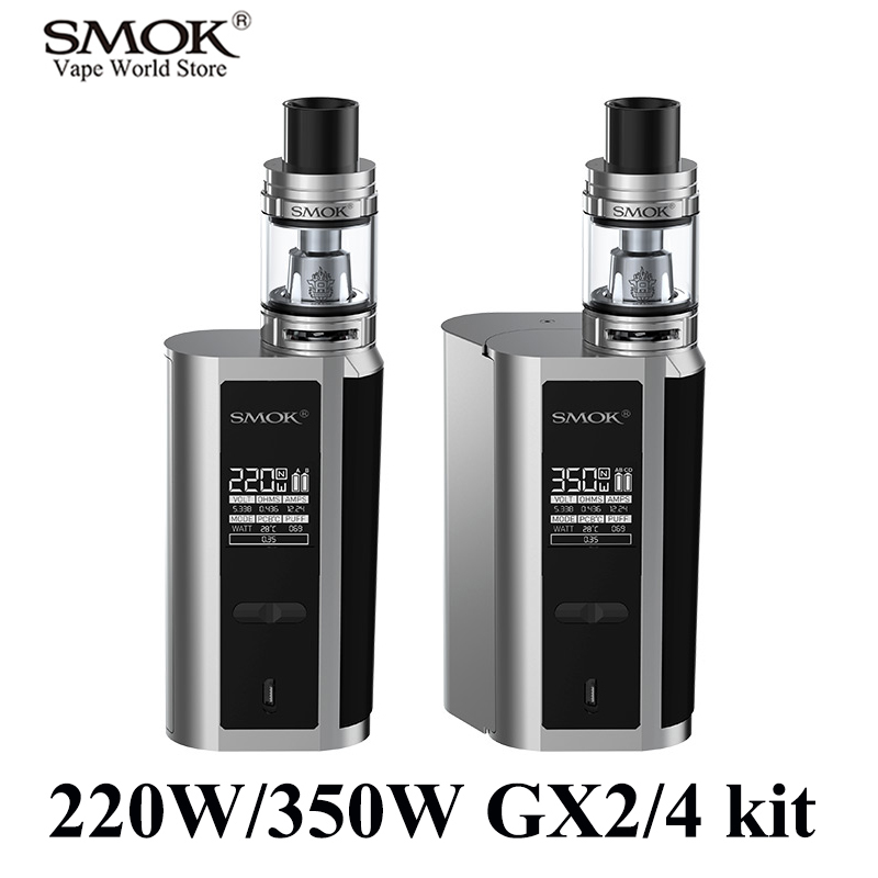 SMOK GX2/4 kit Electronic Cigarette Alien Kit Vaporizer E Cigarette Vape Kit VS iKonn 220 RX 200 Buy Kit Get 3 Core Free S087