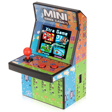 Mini Classic Arcade Game Cabinet Machine Retro Handheld Video Player with Built-in 108 Games Portable Gaming Electronic Novelty
