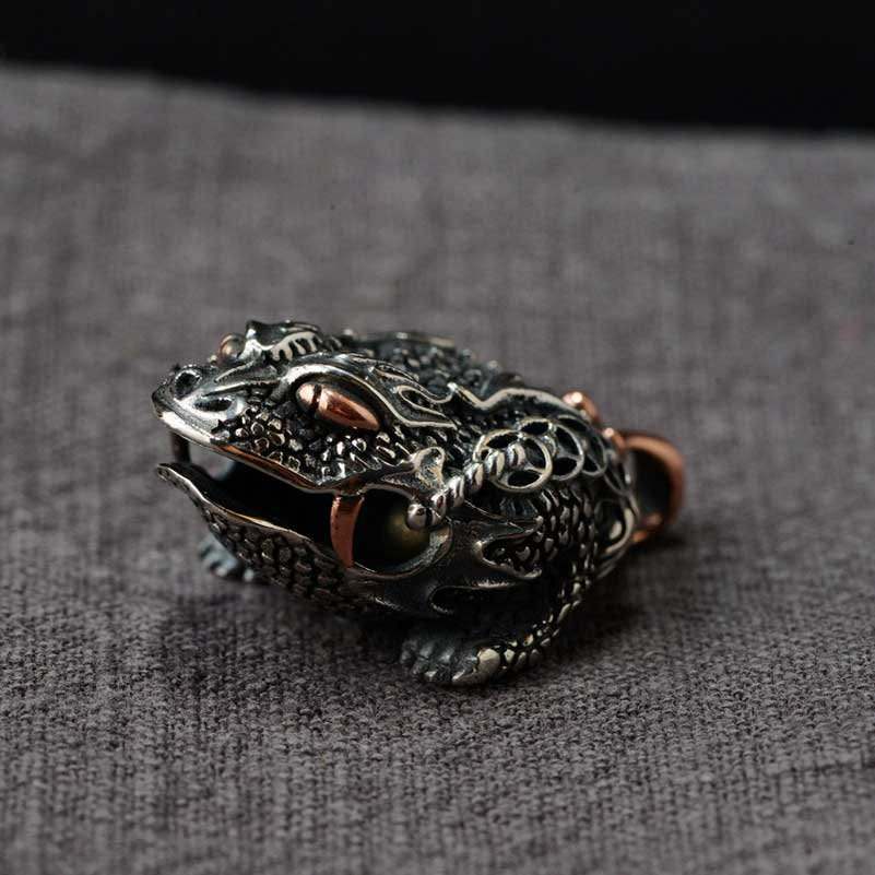 FNJ 925 Silver Toad Pendant Animal Hang Pure Original S925 Thai Silver Pendants Women for Jewelry MakingFNJ 925 Silver Toad Pendant Animal Hang Pure Original S925 Thai Silver Pendants Women for Jewelry Making