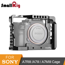 SmallRig a7iii a7r3 a7m3 Cage For Sony A7RIII /A7III/A7MIII Aluminum Alloy Cage To Mount Tripod Quick Release Extension Kit-2087 недорого