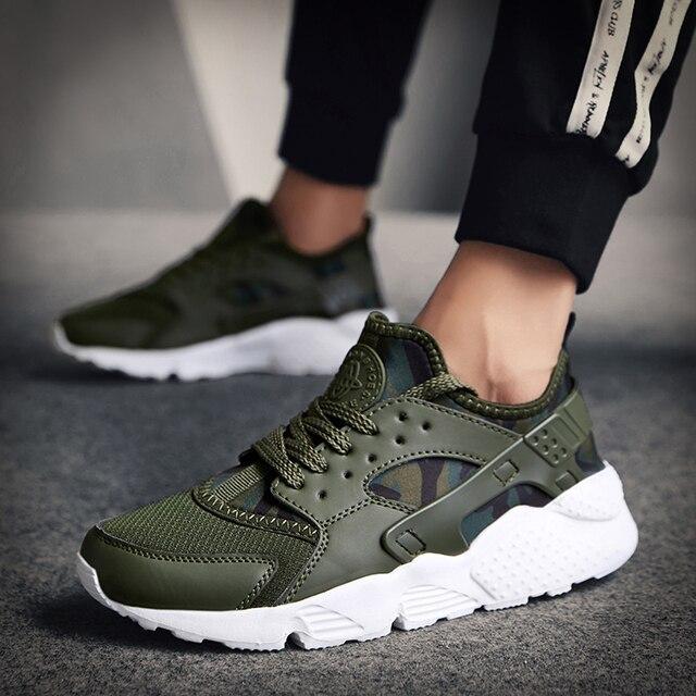 bb73eb2f87 Zapatos casuales hombres zapatillas de deporte de moda de los hombres 2019  nuevo de malla transpirable ...