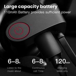 Image 2 - Esvne Sports Bluetooth earphone with Mic active noise cancelling Wireless Headset for phones and music apple iphone xiaomi