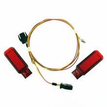 SCJYRXS красная дверь Панель безопасности Предупреждение лампа + кабельное соединение жгута проводов для A3 A4 A5 A6 A7 A8 Q3 Q5 TT 8KD 947 411 8KD947411