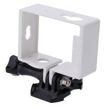 Borda Lateral de proteção Habitação Caso Moldura para Xiaomi Yi Xiaoyi Ação Esporte Câmera Acessórios