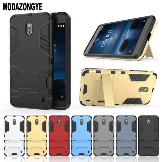 low priced 0b178 d74bd US $3.19 20% OFF|Nokia 2 Case Nokia 2 TA 1029 TA 1035 Case Cover 5.0