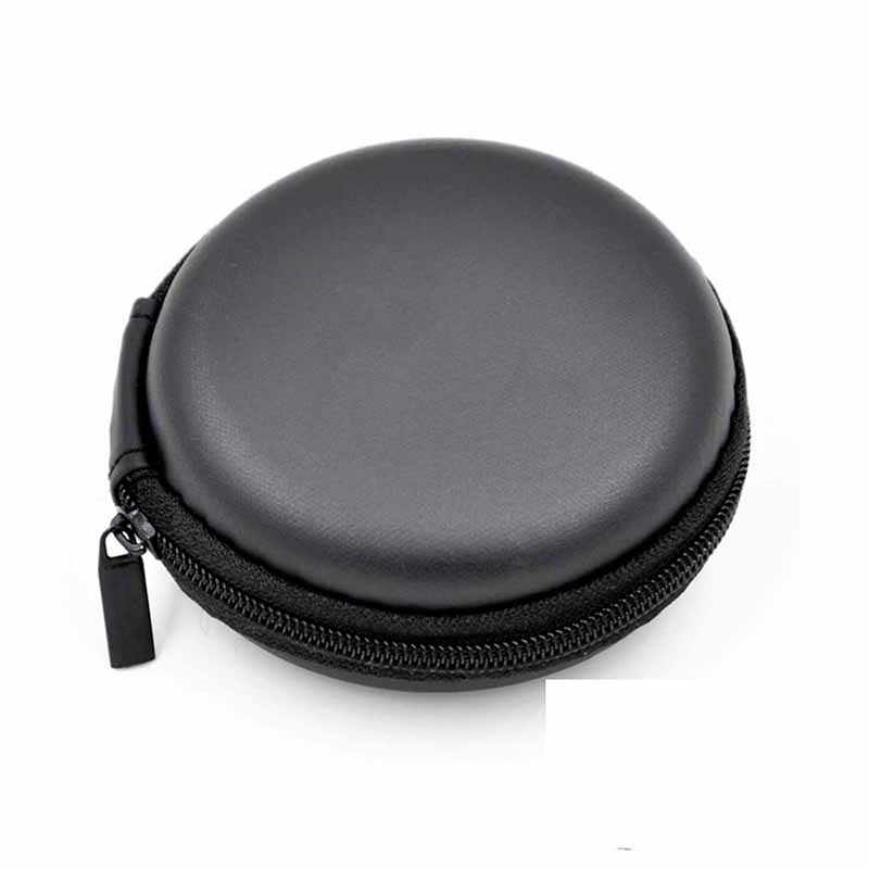 1Pc Case For Earphone EVA Headphone Case Container Cable Earbuds  Box Pouch Bag Holder Headphone accessories