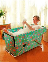 Folding Adult Bathtub Portable Foldable Children S Bath Basin Free Inflatable Shower Pool Shower Basin