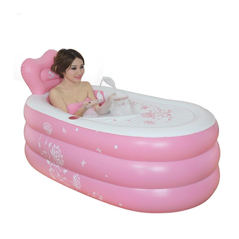 Aliexpress.com : Buy inflatable bath tub adults plastic bathtub for ...
