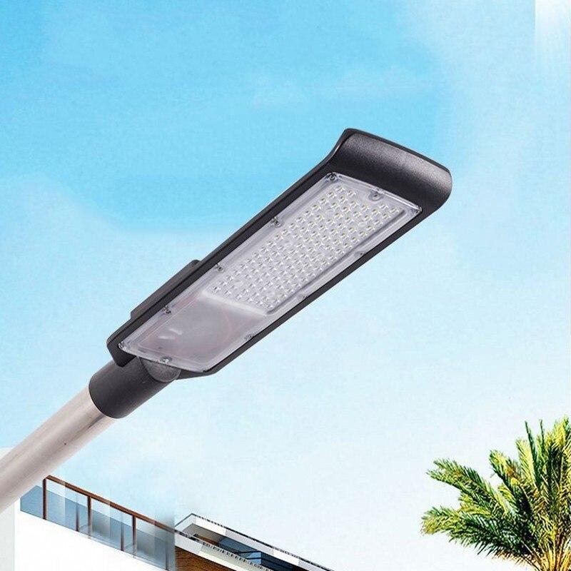 1pc Led Street Light 30W 50W AC85-265V Waterproof IP65 Road Garden Lamp White Led Spotlight Streetlight Outdoor Wall Light