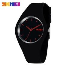 Señoras Relojes Resistentes Al Agua 30 M Reloj Colorido de La Jalea Hombres Rubber Band Relojes reloj Deportivo reloj de Cuarzo de Las Mujeres Relojes de Pulsera