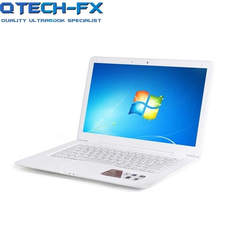 14.1 pouces ordinateur portable Windows7 10 8GB RAM 750GB disque dur CPU Intel étudiant bureau PC WIFI arabe AZERTY russe espagnol clavier - 3