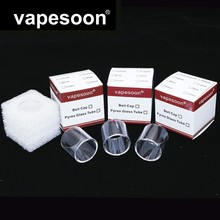 Original VapeSoon   Replacement Glass Tube For Eleaf MELO 4 D25  4.5ML Atomizer Retail Package