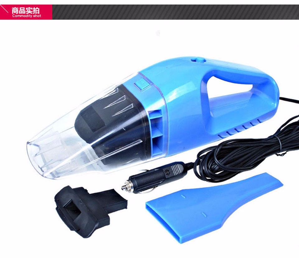 2Mini Accessories Portable Car Vacuum Cleaner 12V 120W Car Auto Handheld  Wet And Dry Dual Use Cigarette mouth Car Cleaner