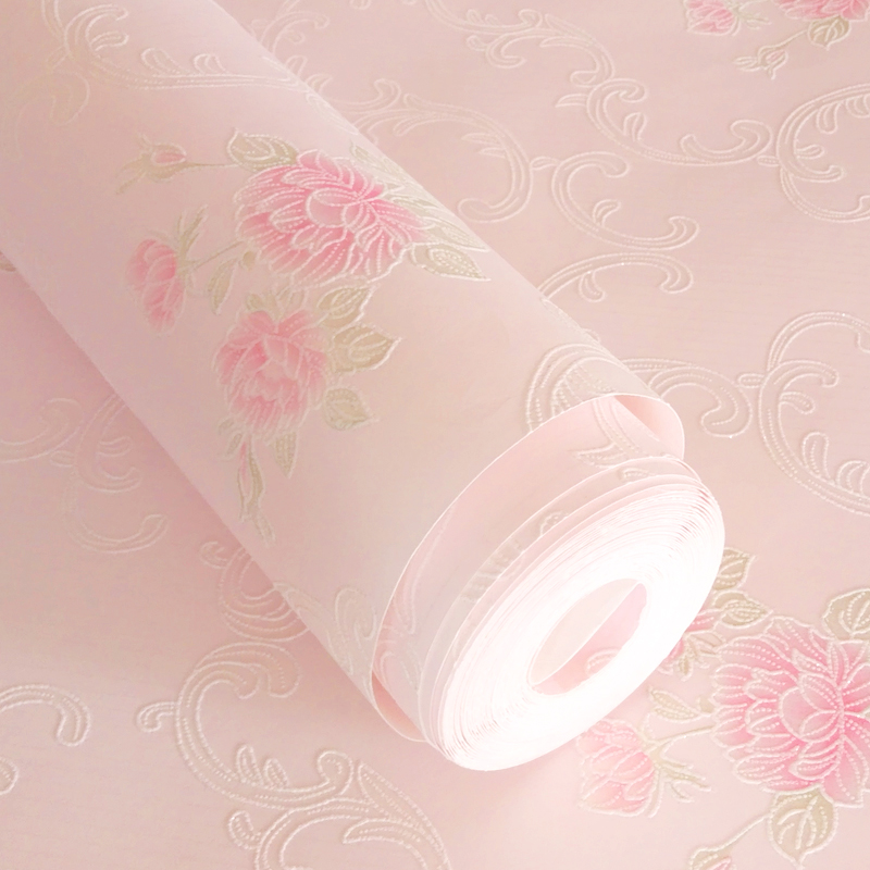 PAYSOTA 3D Pink Violet Blue Beige Yellow Flowers Wallpaper Children's Room Girl Bedroom Wall Paper Roll Home Decoration палатка campus antibes 3 beige yolk yellow