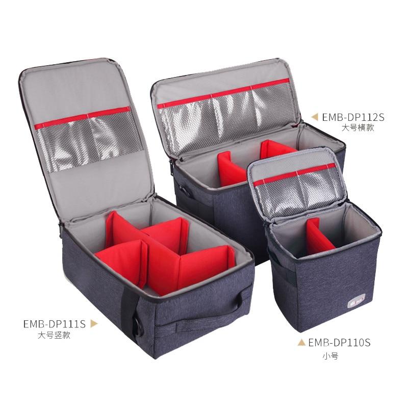 Eirmai Waterproof Multi-function Single-Shoulder Dual-Purpose Bag SLR DSLR Inner Padded Camera Bag Case with Insert Partition ami alexandre mattiussi повседневные брюки