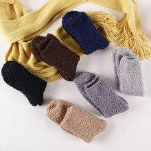 Ацетат Filber зима толще дышащий Для мужчин носки мягкие носки сплошной Цвет теплые Термальность Indoor эластичные длинные плюс бархат носки-тапочки
