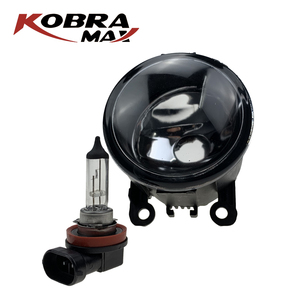 Image 3 - Kobramax Hoge Kwaliteit Fabriek Mistlampen 851200000 Auto Accessoires Mistlampen OEM 1209177.8200074008.6206E1 Voor Citroen