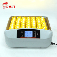 110V 220V China YZ 56S Eggtester Hatchery Machine LED Screen Chicken Incubator Egg Full Automatic Hatcher Auto Turning for SALE