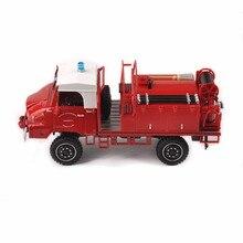 купить 1/43 Scale Collection Fire Engine Truck Model Vehicle Toy Gift mini Car Model toys Kids Toy дешево