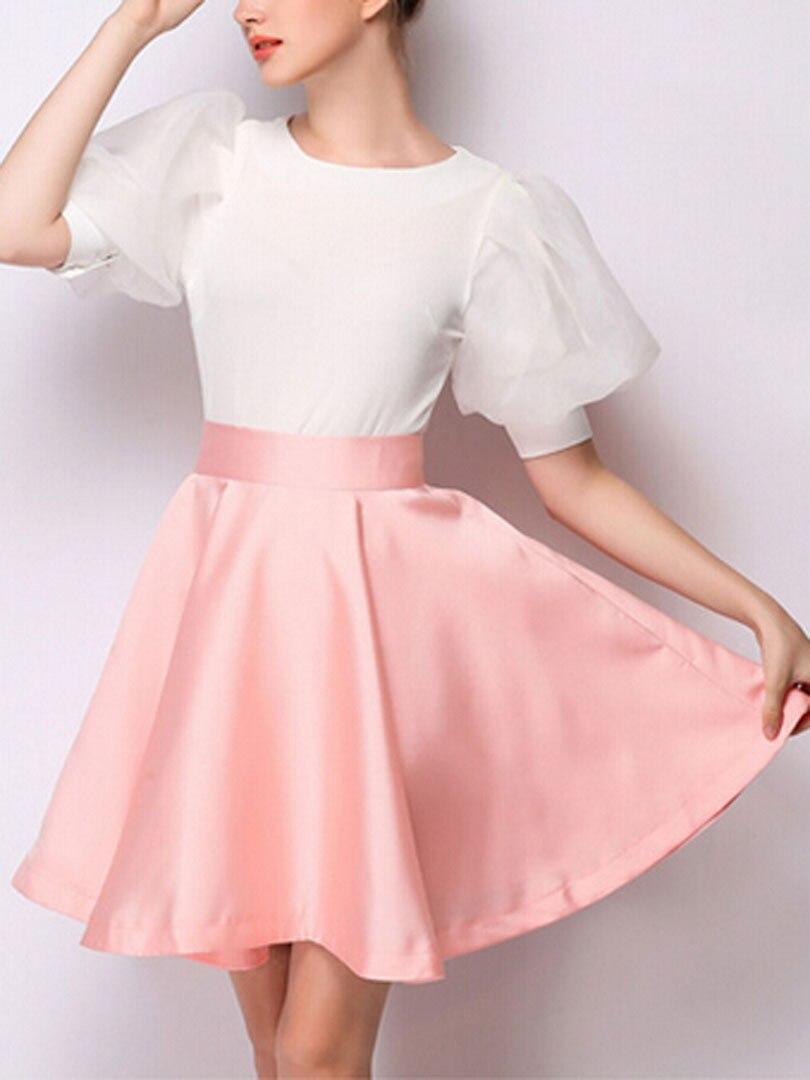 Aliexpress.com : Buy 2015 new arrival summer light pink High Waist ...