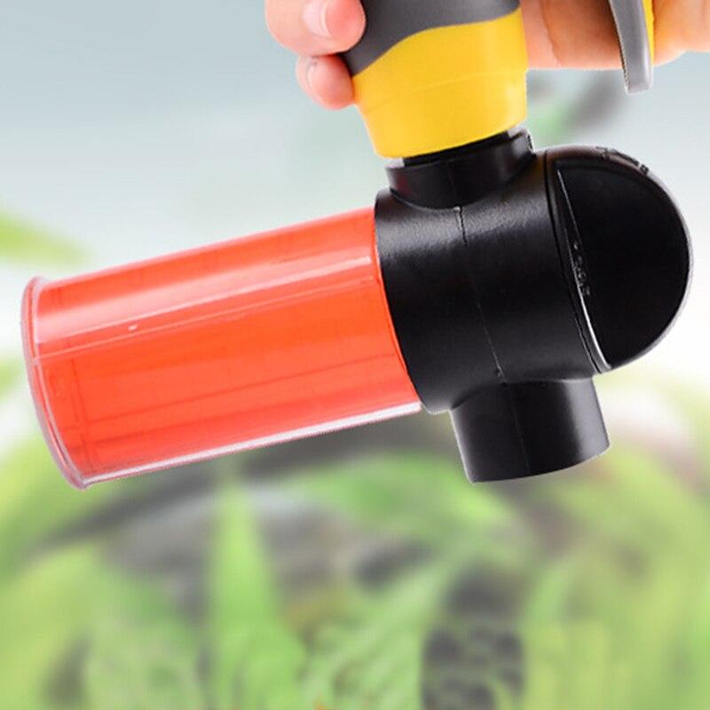 100ML Multi-function Household Cleaning Foamer Soap Foamer Adjustable Foam Nozzle Professional Foam Wash Car Accessories