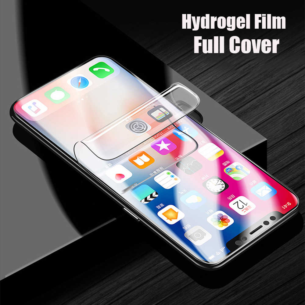 3D Screen Protector For Huawei Mate 20 Pro P30 P20 Pro Lite Full Cover Soft Hydrogel Film For Honor 8X Max 10 9 Film Not Glass
