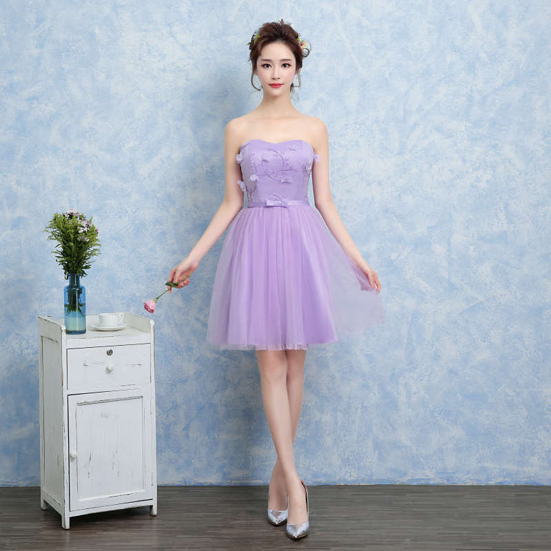 Fashion Strapless Chiffon Young Teen Flower Girl Dresses Girls 13 14 ...