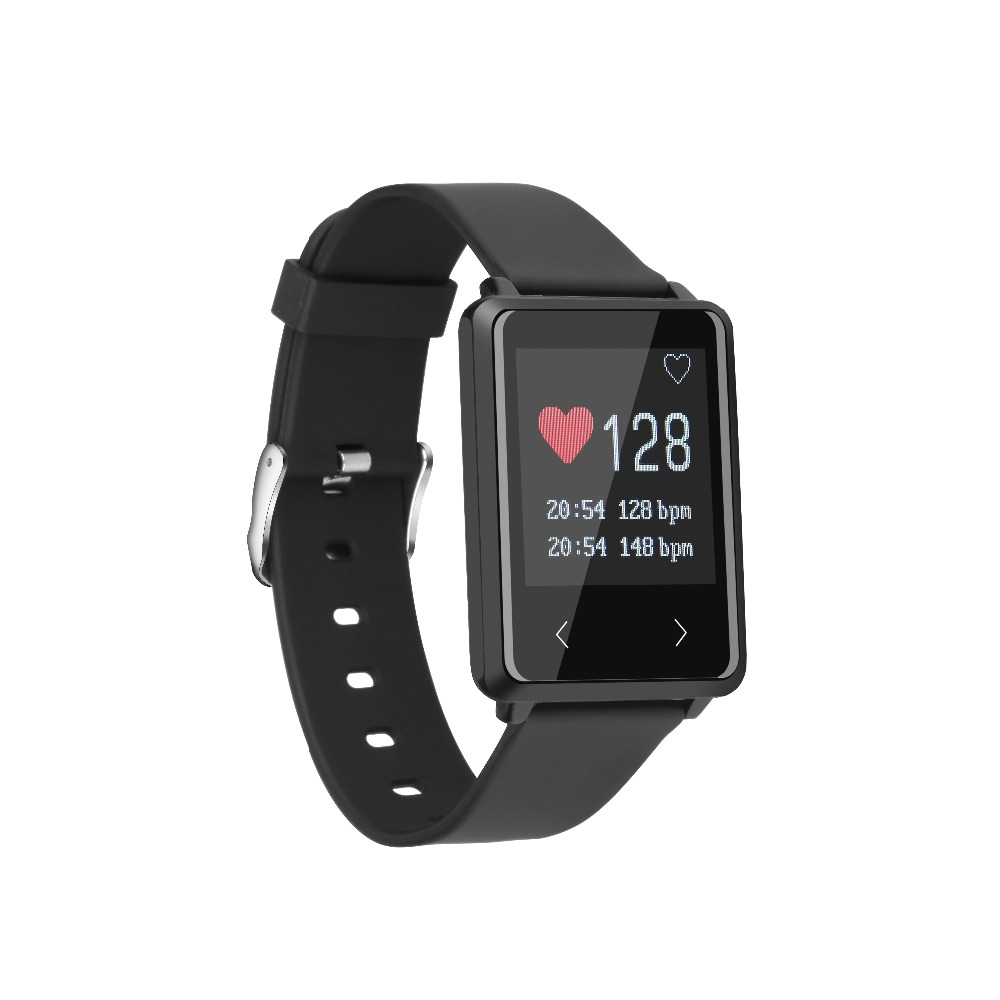 2017 Smart band TK002 Heart Rate monitor Fitness tracker Bracelet sport Running Step Pedometer watch for