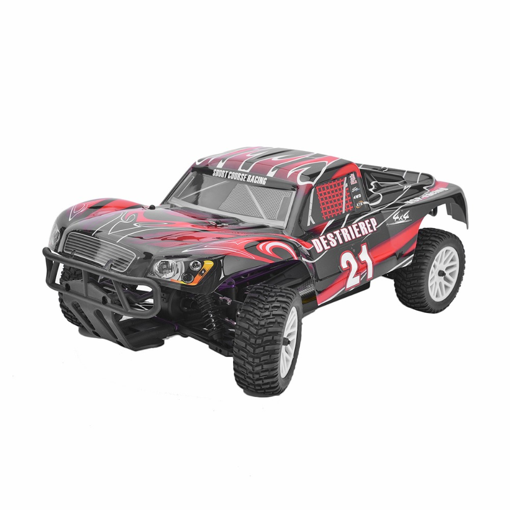 HSP 94170 Rc Car 1/10 Electric Remote Control Car 4wd Off Road Rally Short Course Truck RTR Similar REDCAT HIMOTO Racing car p2 02023 clutch bell double gears 19t 24t for rc hsp 1 10th 4wd on road off road car truck silver