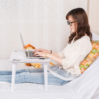 Lazy Home Laptop Bed Table Multifunctional Portable Folding Table Computer Desk Ipad Table Office Writing Table