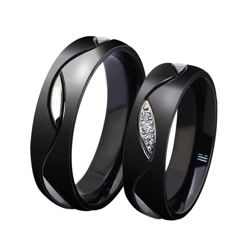 mens black diamond wedding rings