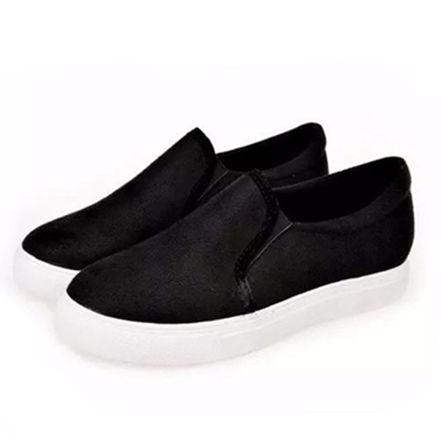 cf1e9402f77 fashion formal wool shoes black leopard print casual shoes flat shoes lazy  loafer comfortable creeper flats
