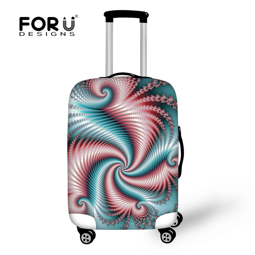 FORUDESIGNS Elastic Dustproof Luggage Case Cover Protective Cover for 18-30 inch Trolley Suitcase Cover Travel Accessories Thick