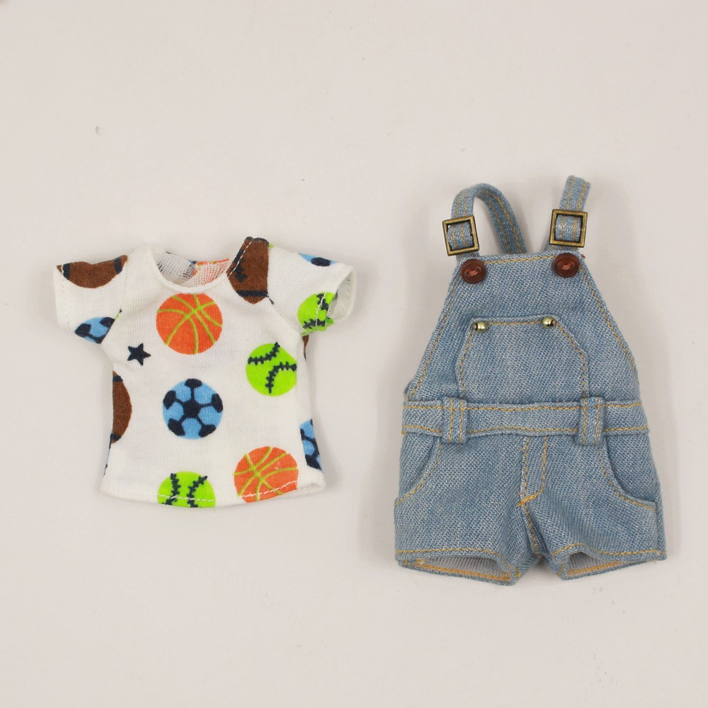 Neo Blythe Doll Shirt With Casual Pants & Rompers Suit 5