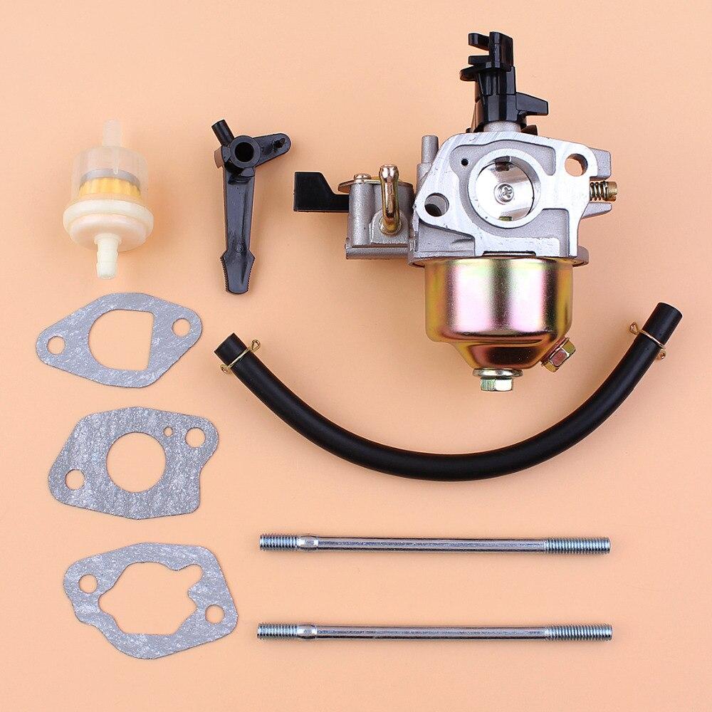 Carburetor Gasket Mount Bolt Fuel Line Filter Fit Honda