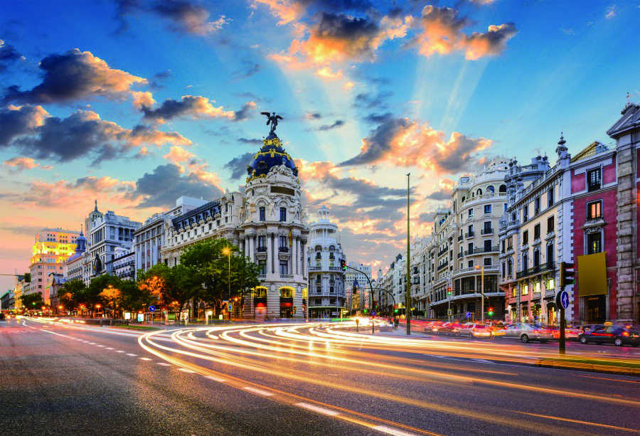 Laeacco City Buildings Road Dusk Photography Backgrounds Digital Customized Photographic Backdrops For Photo Studio