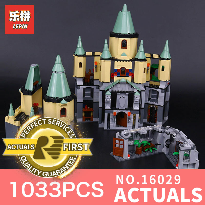 1033Pcs Lepin 16029 Movie Series The magic Hogwort Castle Model Building Block Set Compatible with 5378 Kids Toy Model 1033pcs lepin 16029 movie series the magic hogwort castle model building blocks bricks educational toys for children gifts 5378