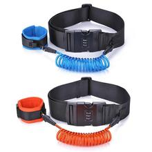 1.5m Children the Elderly Safety Harness Leash Anti Lost Adjustable Wrist Link Traction Rope Wristband Belt For Baby Kids