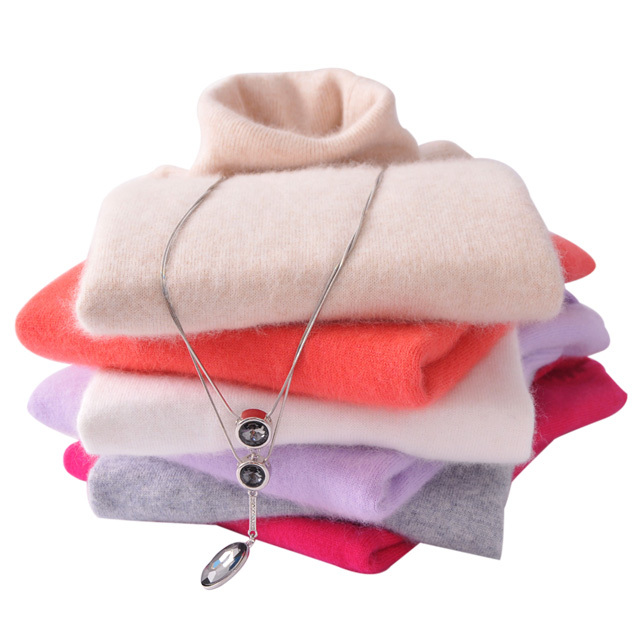 Women Sweater 2016 New cashmere wool sweater women Pullover Regulate thick Warm Sweater High Quality Colors Solid clearance