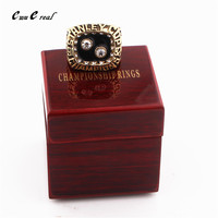 American Size 1992 Pittsburgh Penguin Stanley Cup Champion Ring Replica Ring Box Men Sports Fan Birthday