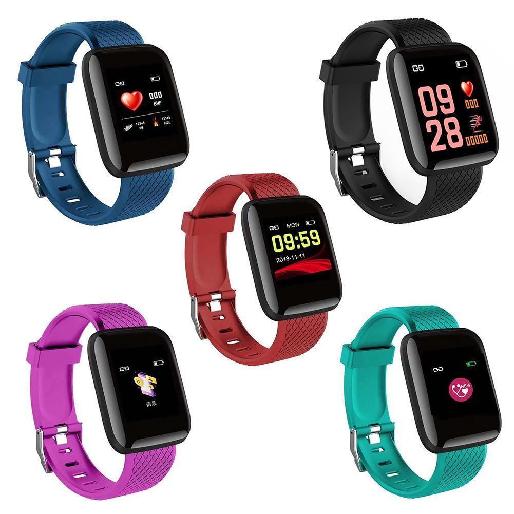 Hot Sale Color Screen Heart Rate Monitor Waterproof Fitness Smart Bracelet Watch Hot Sale Color Screen Heart Rate Monitor Waterproof Fitness Smart Bracelet Watch
