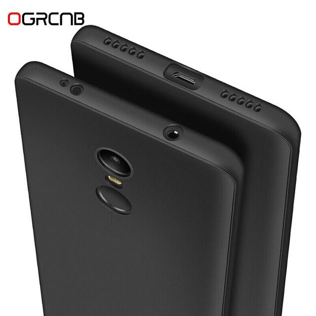 Luksusowy matowy miękki futerał silikonowy do Xiaomi Redmi Note 4X etui na Xiaomi Redmi Note 4X Note4 4 globalna wersja etui na telefon